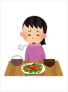 「食欲不振 イラスト」の画像検索結果